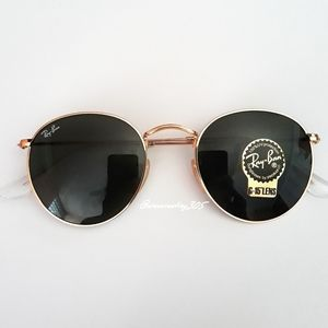 New Ray-Ban Round Metal Classic 3447 💯 Authentic